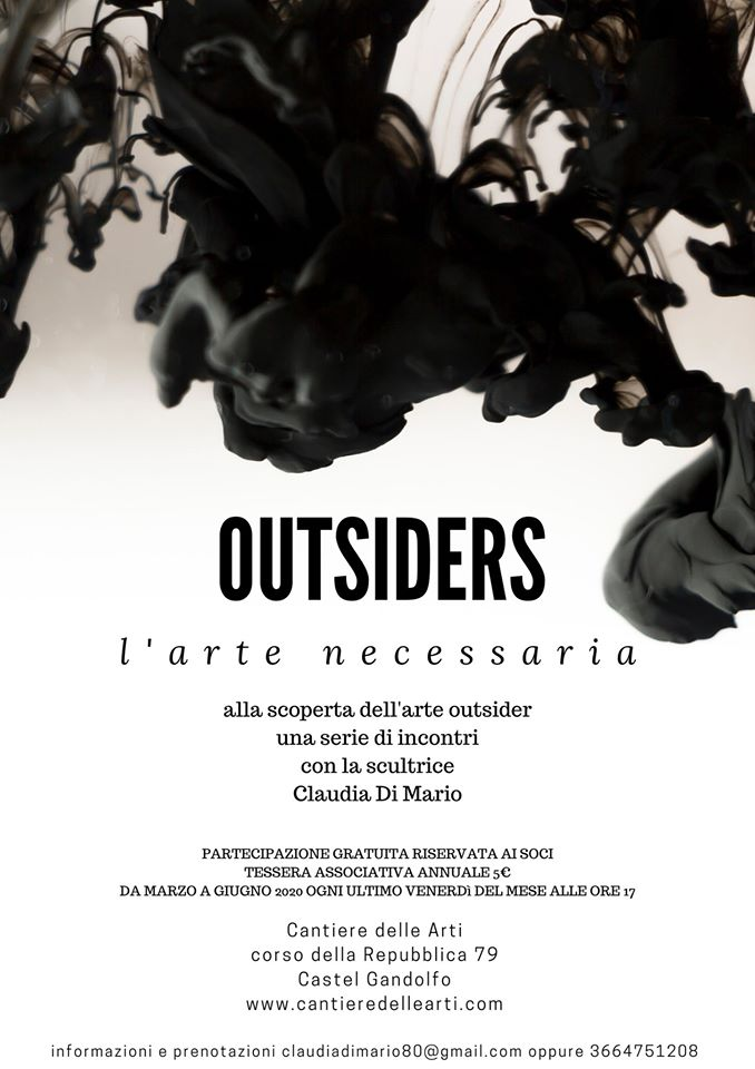 Incontri gratuiti sull'arte outsider a Castel Gandolfo